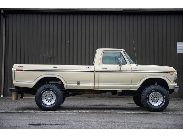 1979 Ford F-250 Lariat Camper Special, Highboy 4x4 - Used Ford F-250