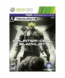 Tom-Clancys-Splinter-Cell-Blacklist-for-Xbox-360-Brand-New-Factory-Sealed