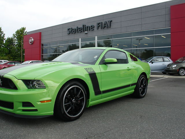 2013 gotta have it green mustang boss 302 used ford. Black Bedroom Furniture Sets. Home Design Ideas