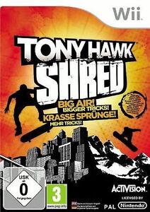 Tony Hawk: SHRED / Wii / NEU / Eingeschweißt
