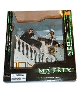 McFarlane - The Matrix Series One 1 - Neo - The Matrix Reloaded Chateau Scene