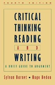 a brief guide writing an argument Critical thinking, reading, and writing : a brief guide to argument item preview.