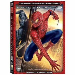 Spider-Man-3-DVD-2007-2-Disc-Set-Special-Edition-New-Sealed