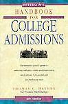 Handbook for College Admissions, Thomas Hayden, 1560794283