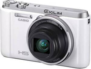 Casio-EXILIM-ZR1100-EX-ZR1200-16-1MP-High-Speed-Digital-Camera-White