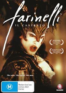 Farinelli NEW R4 DVD