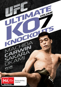 UFC - Ultimate Knockouts 7 (DVD, 2013)-REGION 4-Brand new-Free postage