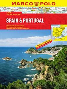 SPAIN/PORTUGAL MARCO POLO ATLAS  BOOK NEW