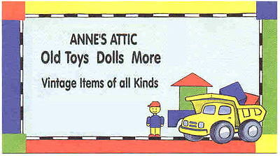 Anne's Attic Old Toys Dolls More