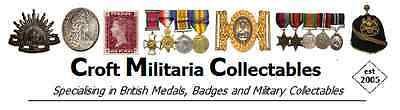 Croft Militaria Collectables