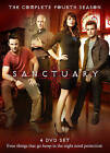 Sanctuary: The Complete Fourth Season (DVD, 2012, 4-Disc Set) (DVD, 2012)