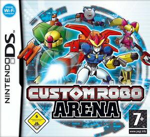Nintendo-DS-Spiel-Custom-Robo-Arena-mit-OVP