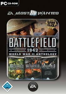 Battlefield 1942: World War II Anthology (PC, 2008, DVD-Box) - Deutschland - Battlefield 1942: World War II Anthology (PC, 2008, DVD-Box) - Deutschland