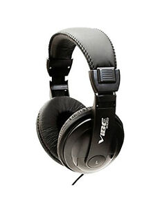 NEW-Black-Vibe-Sound-DJ-Style-Stereo-over-Ear-Headphones-with-Noise-Reduction
