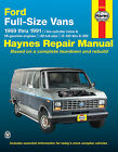 Ford Haynes Car & Truck Repair Manuals & Literature