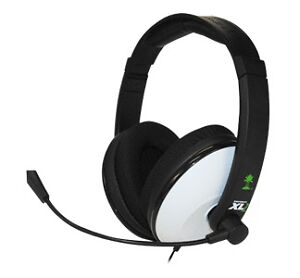 11d5da784c6 Turtle Beach Ear Force XL1 Black/White Headband Headsets for Microsoft Xbox  360