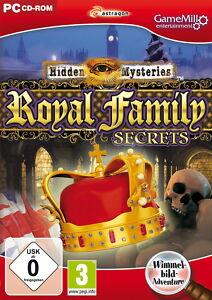 Hidden Mysteries: Royal Family Secrets (PC, 2012, DVD-Box) - Lalendorf, Deutschland - Hidden Mysteries: Royal Family Secrets (PC, 2012, DVD-Box) - Lalendorf, Deutschland
