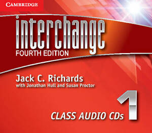 Richards, Jack C.-Interchange Level 1 Class Audio Cds (3)  CD NEW
