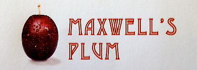 Maxwell's Plum