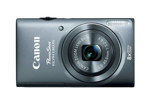 Canon-PowerShot-ELPH-130-IS-IXUS-140-16-0-MP-Digital-Camera-Gray-Latest-Mod