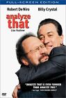 Analyze That (DVD, 2003, Full Frame)