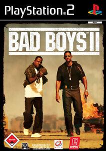 Bad Boys II Sony PlayStation 2 Spiel mit Anleitung