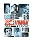 Grey's Anatomy - Season 2: Uncut (DVD, 6 - Disc Set) (DVD, 2006)