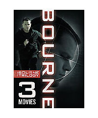 The Bourne Trilogy (DVD, 2008, 3-Disc Se...