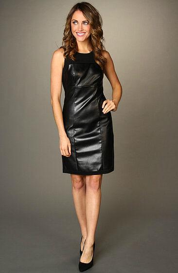 Tipps zur Auswahl eines Lederkleides und wie Sie es stilsicher kombinieren