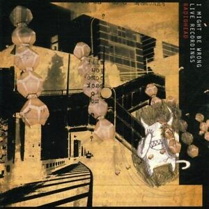 RADIOHEAD-I-Might-Be-Wrong-Live-Recordings-CD-2001-Parlophone-Card-Sleeve