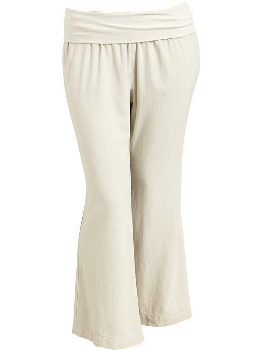 Perfect Navy Linen Pants Images