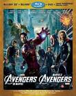 The Avengers (Blu-ray/DVD, 2012, 4-Disc Set, Canadian; French; 3D)