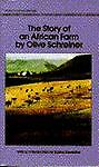 The Story of an African, Olive Schreiner, 0553214128