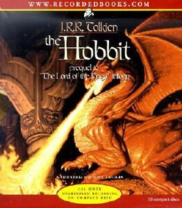 The-Hobbit-Audiobook-10-CD-Discs-11-25-hours-UNABRIDGED-Audio-by-J-R-R-Tolkien