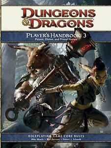 Player's Handbook 3 : A 4th Edition D&D Core Rulebook by Rob Heinsoo, Robert...