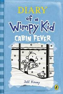 Diary-of-a-Wimpy-Kid-Cabin-Fever-Kinney-Jeff-Used-Good-Book
