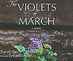 The Violets of March - Sarah Jio - LL561 - 8 CDs - NEW - FREE SHIPPING