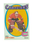 Ice Hockey Trading Cards Rookie Ken Dryden