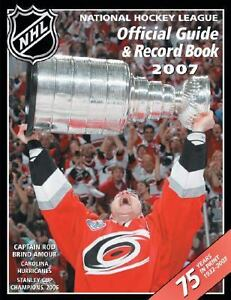 NHL Official Guide and Record Book (2006...