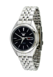 Seiko 5 Snkl23 Snkl23 K1 21 Jewels Automatic Black 30m Wr Box &Amp; Manual ! by Seiko