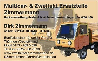 Multicar u Zweitaktteile Zimmermann