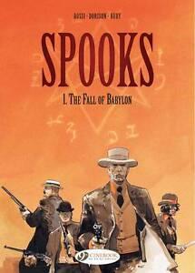 SPOOKS #1 Fall of Babylon by Xavier Dorison rrp$28 graphic novel cartoons comic