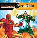 THE INVINCIBLE IRON MAN VS THE MANDARIN ~ NEW MARVEL PAPERBACK BOOK