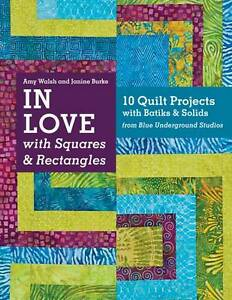 In Love with Squares & Rectangles,Janine Burke, Amy Walsh,New Book mon0000064041