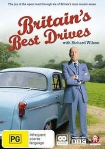 Britain's Best Drives - With Richard Wilson (DVD, 2010, 2-Disc Set) New & Sealed