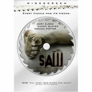 Saw-DVD-2005-Widescreen-DANNY-GLOVER-NEW