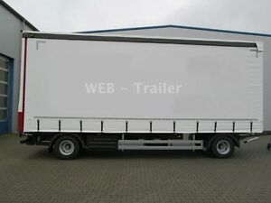 Web-Trailer PRASQ Drehschemel Curtainsider / XL