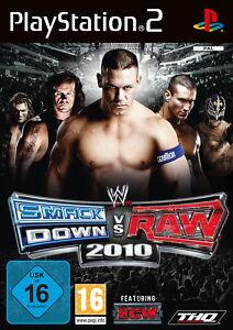 WWE Smackdown vs. Raw 2010 (PS2) - DVD wie Neu