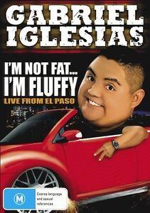 Gabriel Iglesias - I'm Not Fat I'm Fluffy (DVD, 2011)-FREE POSTAGE