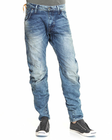 How to Buy Men's Tapered Jeans
